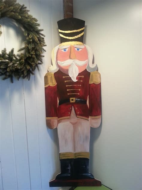 nutcracker soldier handpainted wooden soldier for