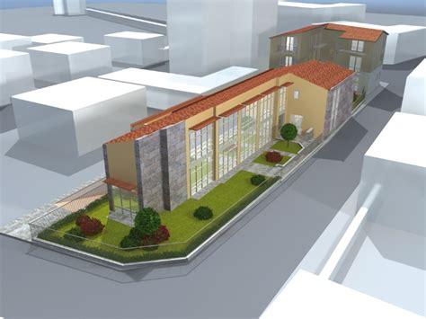 ufficio postale milanese di nuova costruzione e cantieri a milanese