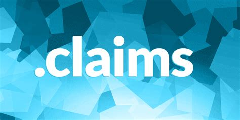 claims domain registration   claims domain