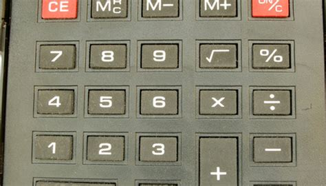 calculator using html how to use the percentage key on a calculator sciencing