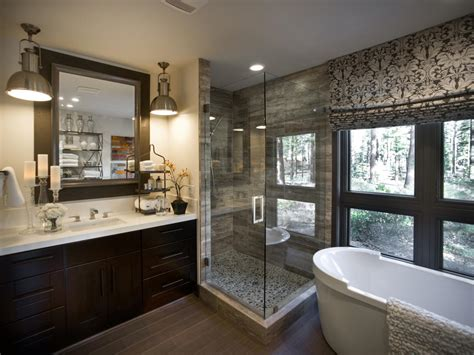 hgtv master bathroom designs patterned roman shades the damask roman shades easily draw