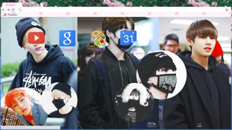 theme google bts トキドキ bts tema para google chrome