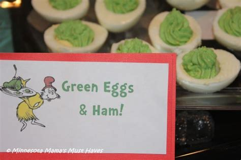 printable egg recipes green eggs ham and other seussified food printables