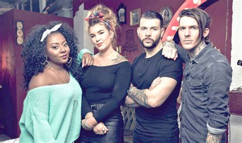 tattoo fixers cast alice f tattoo fixers caign launched against e4 show by