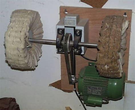 Holz Lack Polieren Anleitung lackierung maschinell polieren schwabbeln rall guitars