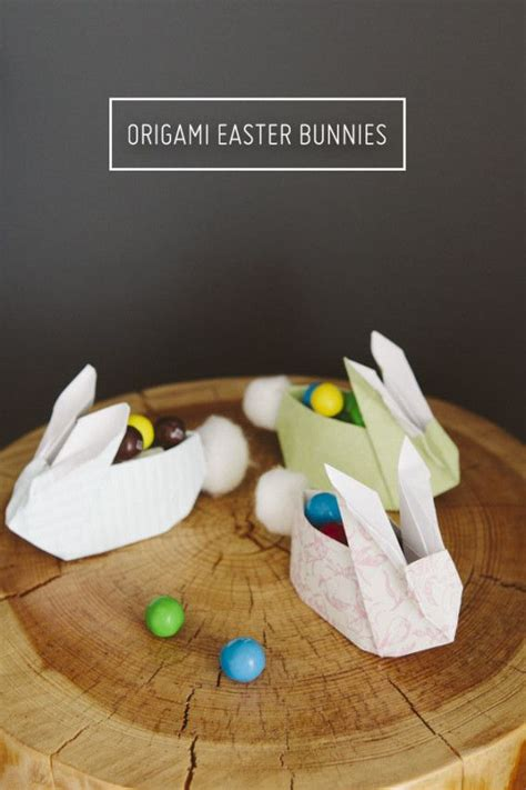 How To Make A Origami Easter Bunny - bunny crafts kid and origami on