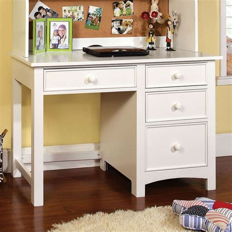 omnus youth desk white furniture of america furniture cart