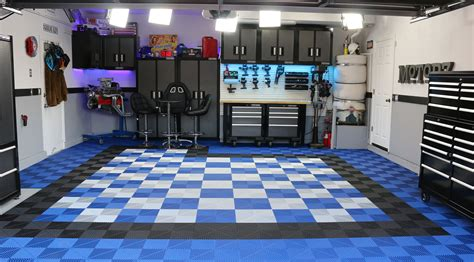 Rubber Garage Flooring Shining Home Design