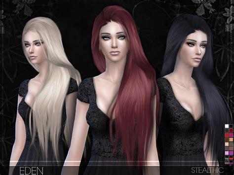 sims 2 female hair tsr the sims resource stealthic eden female hair