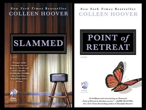 slammed a novel books corner slammed series books of colleen hoover