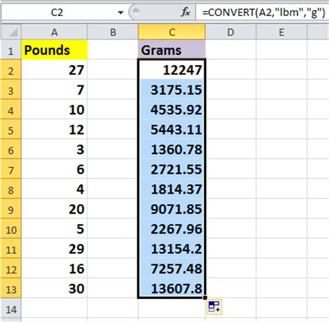 converter gram to oz how to quickly convert pounds to ounces grams kg in excel