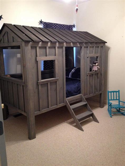 diy kids beds how to build a cabin bed diy projects for everyone