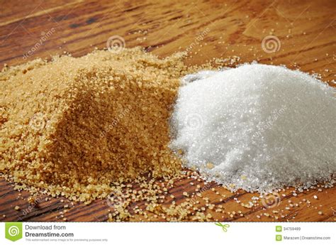 white and brown table brown and white sugar stock image image of glucose