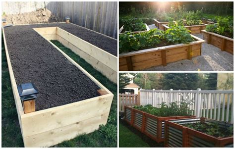 gartenbeet ideen diy your way to a beautiful raised garden bed diy cozy home