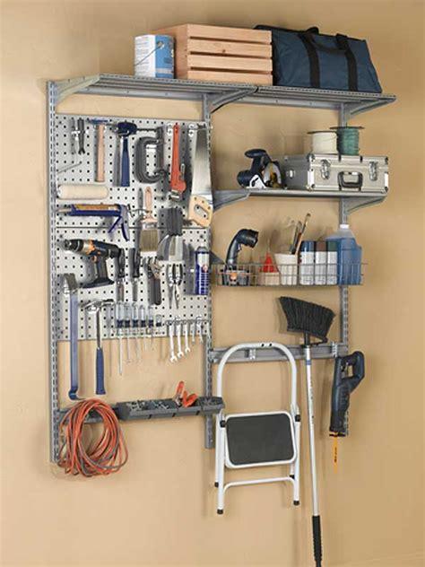 garage wall organizer garage wall storage system and tool organizer in wall