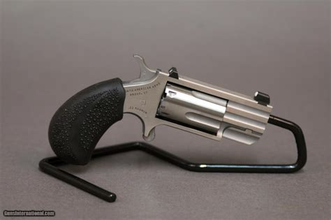 naa pug d american arms pug 22 magnum revolver 1 quot barrel white dot sight
