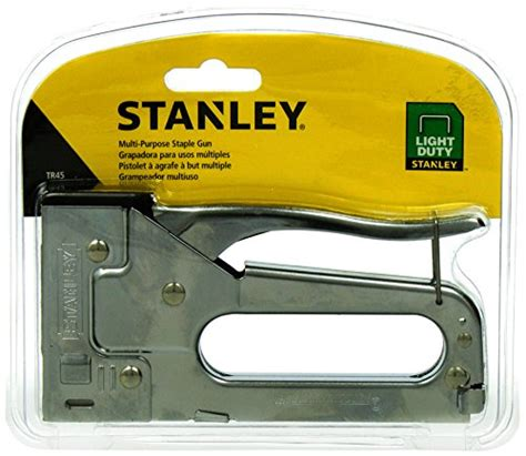 stanley light duty staple gun stanley tr45 light duty staple gun import it all