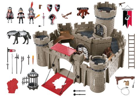 Playmobil Hawk Knights Castle Set hawk knights castle 6001 playmobil 174 usa