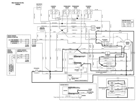 wiring diagram mower electric clutch wiring diagram and