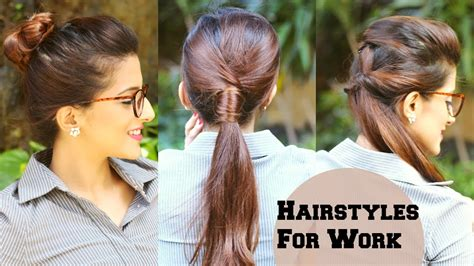 everyday indian hairstyles for medium hair 3 quick everyday hairstyles for work office college no