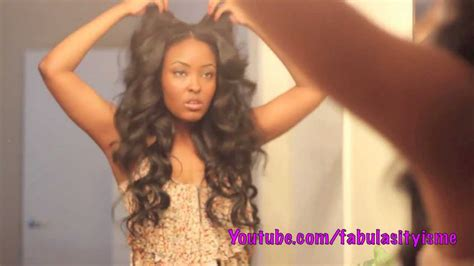how to jumbo flexi rod hair get some heatless waves in your hair girrrl using flexi