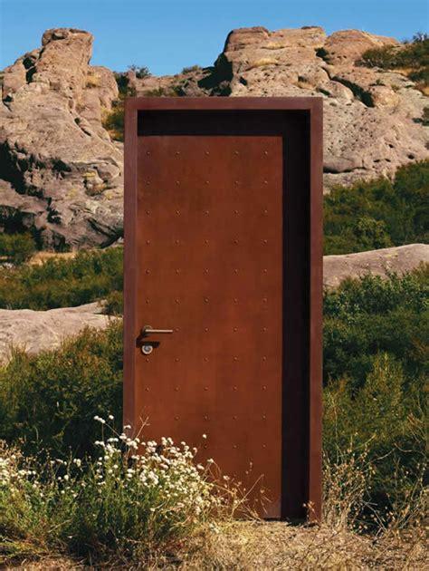 Corten Door by Neoporte Doors Era Finish Pre Weathered Corten Steel
