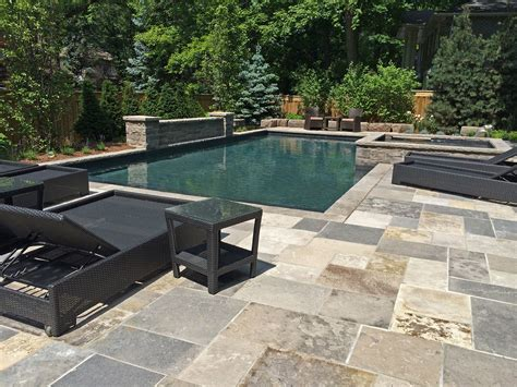 Cut Flagstone Patio by Wiarton Square Cut Flagstone Pavers
