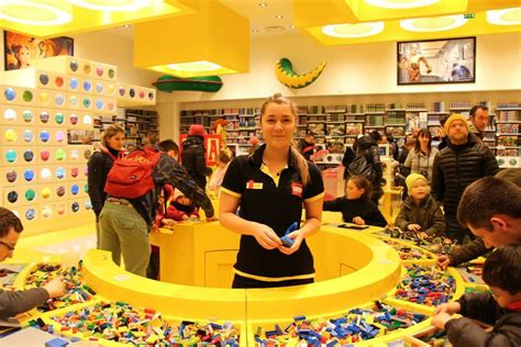 Unique Wall Murals europe s largest lego store opens its doors at disney
