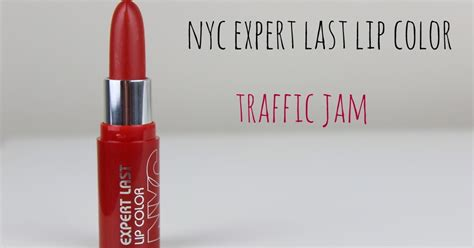 Expert Tip Get The Lip Stain by Nyc Expert Last Lip Color Traffic Jam Tis The Season