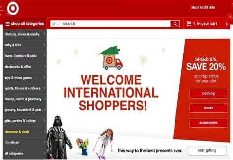 Masstigewatch Targets Newest Go International Co by Target Launches International Website