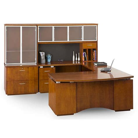 dallas office furniture wood u shape desk set new