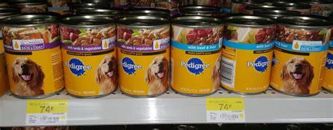 pedigree food walmart pedigree canned food just 58 at walmart