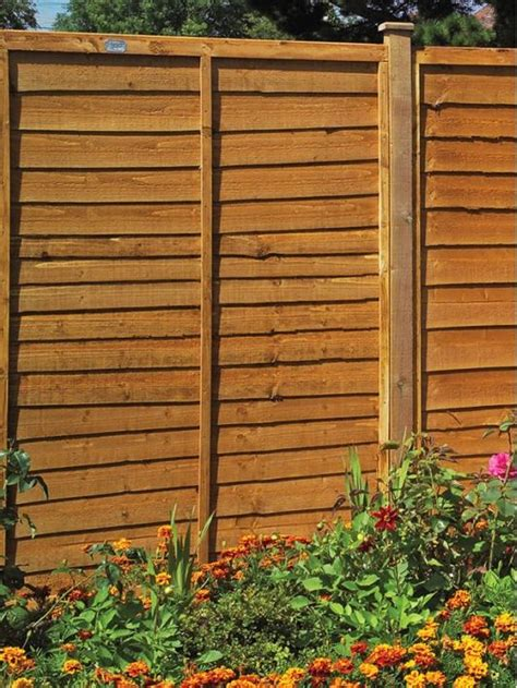 Shiplap Fence by Shiplap Fencing Is Inexpensive Option Home And Garden