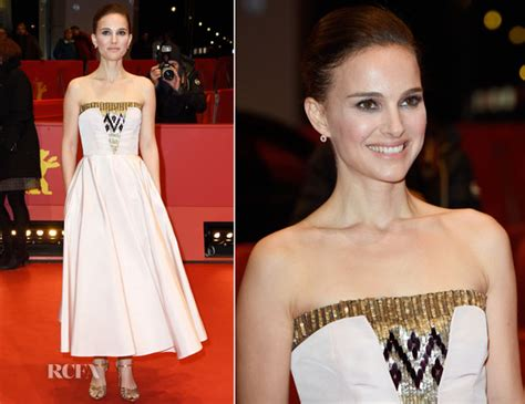 Catwalk To Carpet Berlin Festival by Natalie Portman In Christian As We Were Dreaming