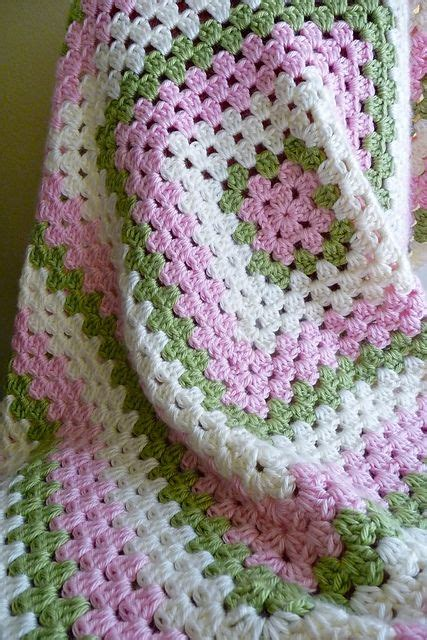 pattern crochet granny square basic basic granny square chic baby blanket free crochet