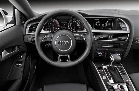 2012 Audi A5 Interior by 2012 Audi A5 Coupe Black Interior Dashboard Eurocar News