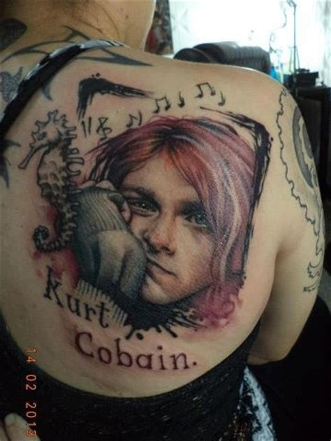 kurt cobain tattoo 236 best kurt cobain images on nirvana kurt