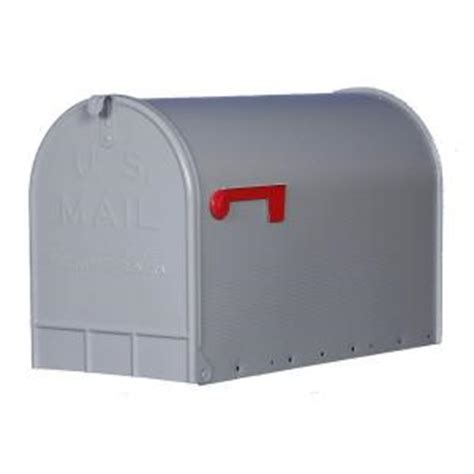 gibraltar mailboxes jumbo heavy duty post mount mailbox