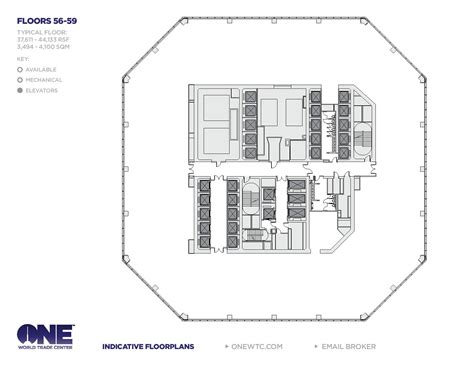 One World Trade Center Floor Plan | one world trade center freedom tower floor plans new