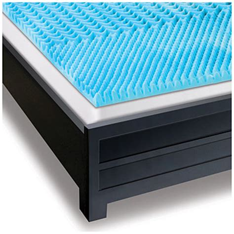 beautyrest 174 2 quot gel memory foam mattress topper big