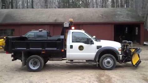 flashing lights for snow plow trucks 2010 ford f 450 dump with whelen dot led lighting package
