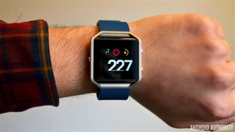 Fitbit Floors by Fitbit Blaze Review Android Authority