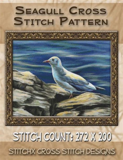 a pattern language barnes and noble seagull cross stitch pattern by tracy warrington
