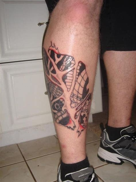 amazing thigh tattoo designs 50 wonderful biomechanical tattoos on leg