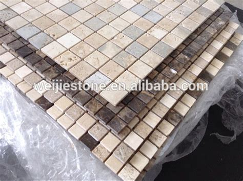 6 inch tile backsplash 1 6 inch thickness kitchen backsplash mosaic tile in 1x1