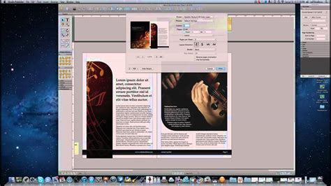 apple pages booklet template how to create a booklet on a mac