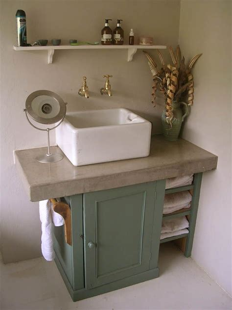 bathroom belfast sink shaker style sink unit hand painted farrow and ball