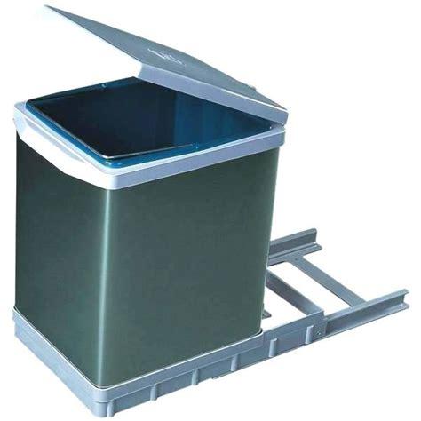 poubelle cuisine coulissante sous evier poubelle de cuisine sous evier top alinea poubelle