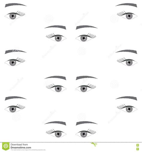 eye pattern website textures cartoons illustrations vector stock images