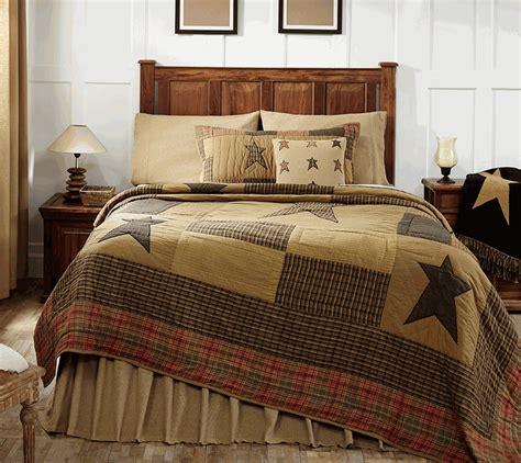 Primitive Crib Bedding Stratton Rustic Cabin 3 4 Or 5 Value Quilt Set
